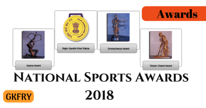 national sports awards 2018