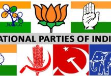 national parties india