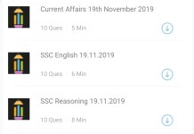 SSC CGL 2019 Mock Test