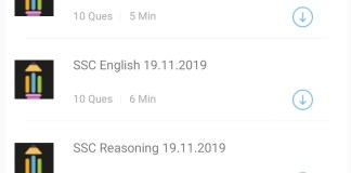 SSC CGL 2019 Mock Test