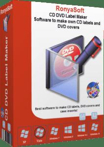 RonyaSoft CD DVD Label Maker 3.2.22 Crack Plus Serial Key Free Download