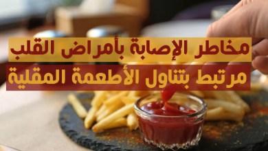 أمراض القلب والأطعمة المقلية