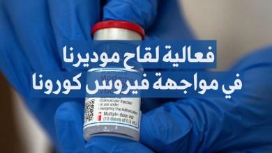 فعالية لقاح موديرنا في مواجهة فيروس كورونا
