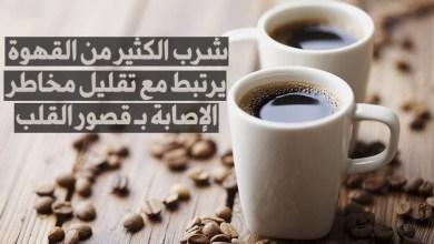 شرب الكثير من القهوة و مخاطر الإصابة بـ قصور القلب