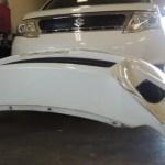 C25スズキランディのフロントバンパー交換費用