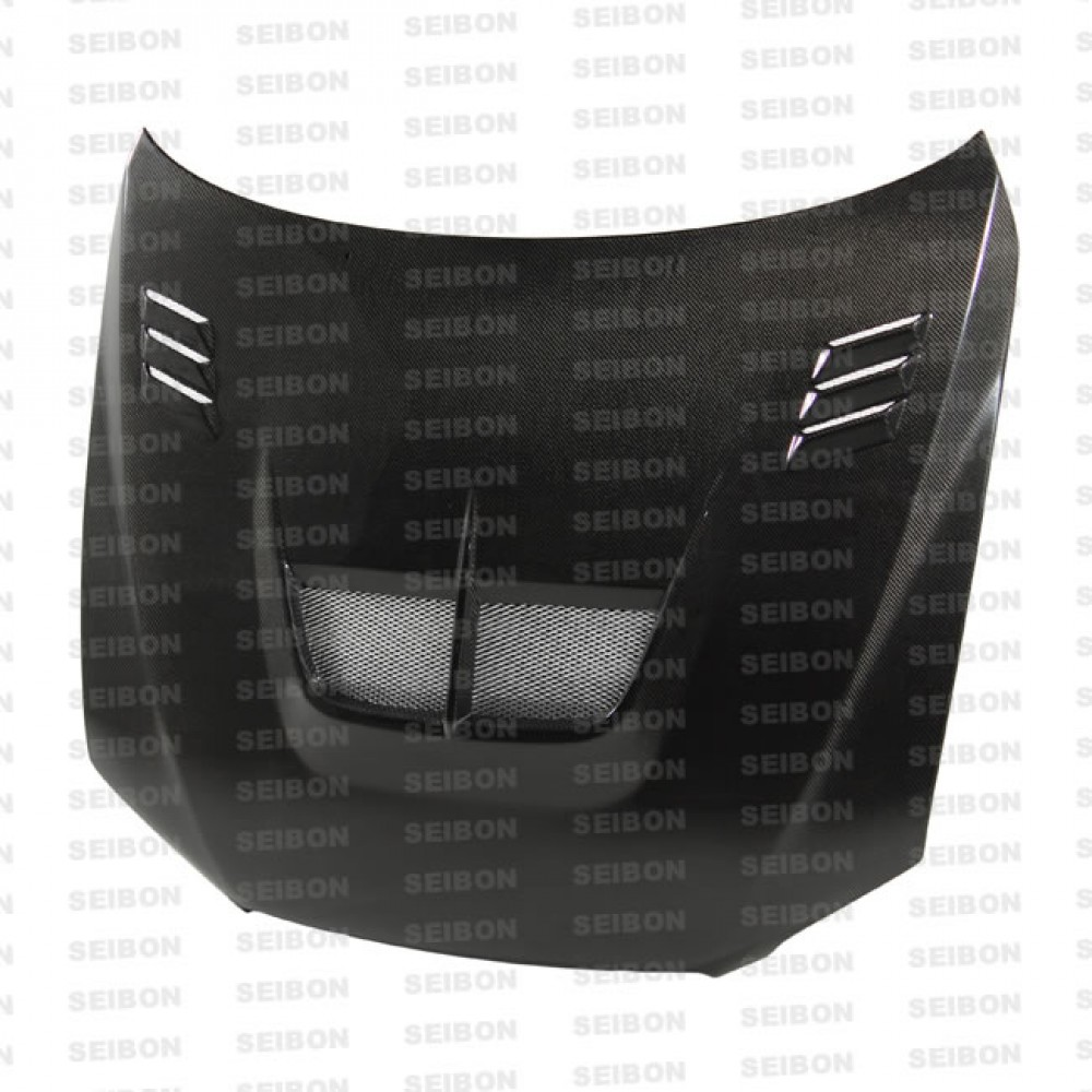 hight resolution of ts style carbon fiber hood for 2001 2005 lexus is 300