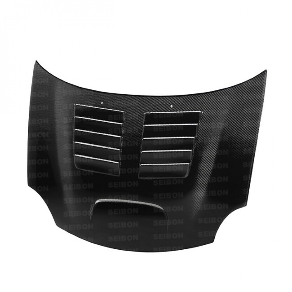 hight resolution of oem style carbon fiber hood for 2002 2006 bmw mini cooper