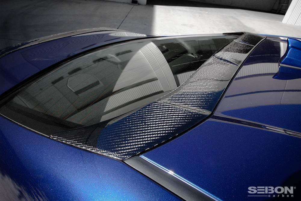 CARBON FIBER REAR ROOF SPOILER FOR 2013 2018 SCION FRS