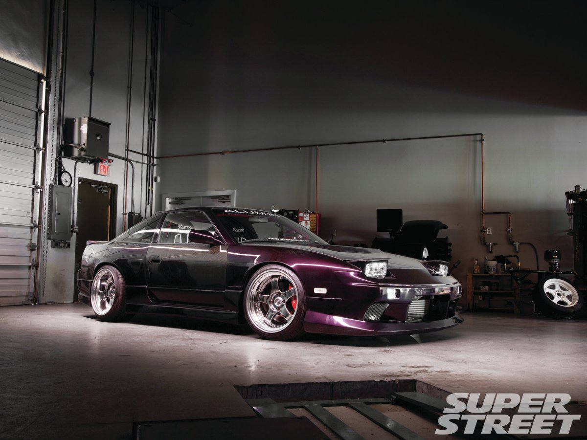 Project Cars Wallpaper Red Super Street Feature 1991 Nissan 240sx Dad Builds Show