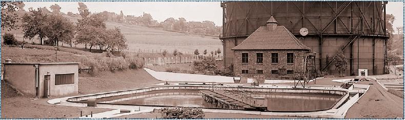 Fot. 2. Pierwsza w Europie oczyszczalnia ścieków z osadem czynnym w Rellinghausen