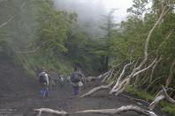 Fuji - bizarre Landschaft