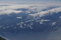 Rückflug - letzter Blick auf Japan