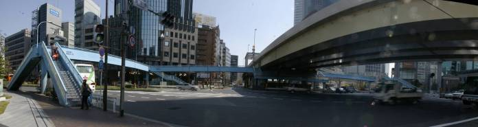 Shimbashi Pedestrian Deck