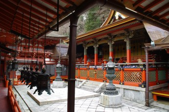 Inside Tanzan Shrine