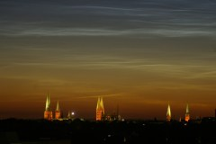 Luebeck at midnight on June 21st
