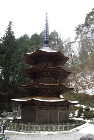 Anrakuji Pagode, Bessho Onsen