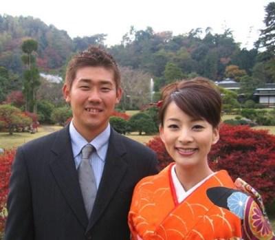 松坂大輔と柴田倫世