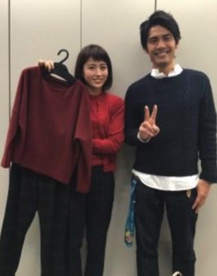 田中萌と加藤泰平アナ
