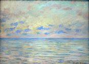 Claude Monet, Marine near Étretat, 1882