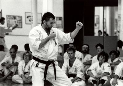 Trying for your black belt