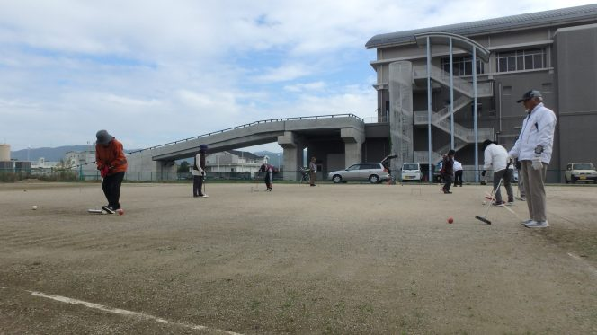 ゲートボール教室