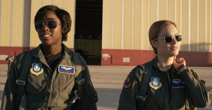 キャプテン・マーベル,ブリー・ラーソン,元空軍パイロット