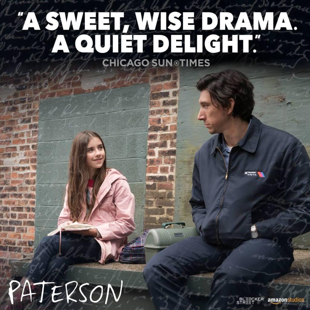 パターソン,一週間何も起こらない,アダム・ドライバー