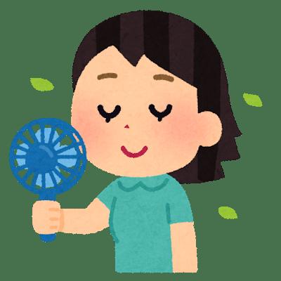 要注意!携帯扇風機(ポータブル扇風機・ハンディファン)の使い方・選び方