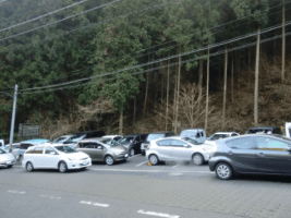 ①御岳山駐車場