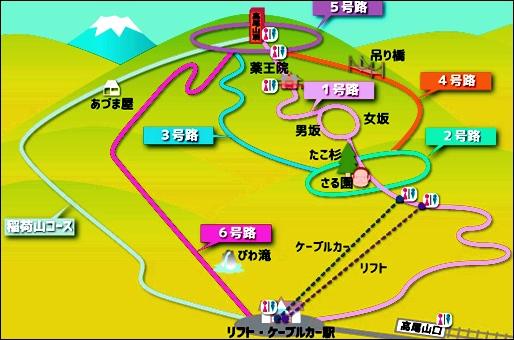 高尾山登山コース11