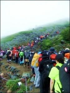 16富士山登山道