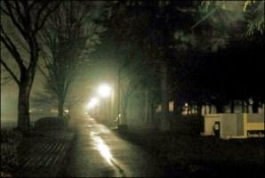 夜ジョギング