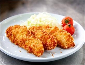 白身魚フライ11