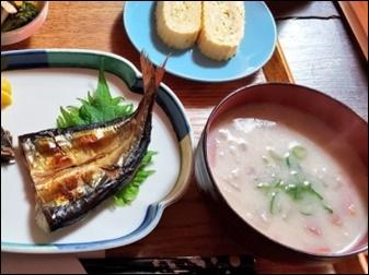 焼き魚粕汁