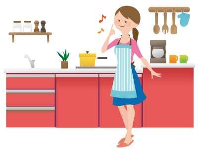 料理の上手な主婦