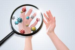 手についたウイルスをとるために除菌と消毒効果のある商品を使おう