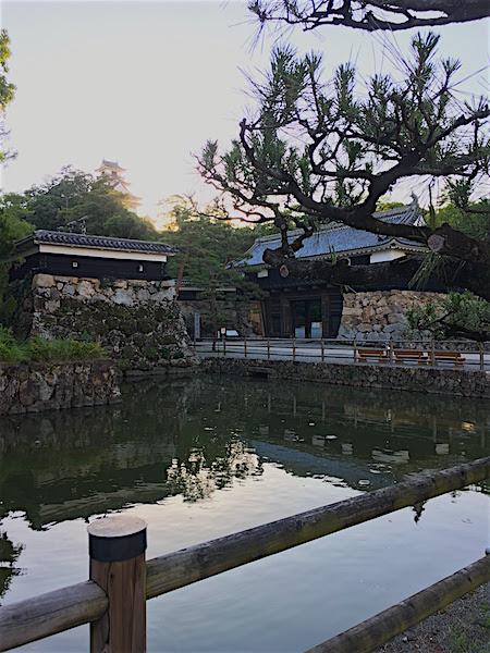 高知城門あたり