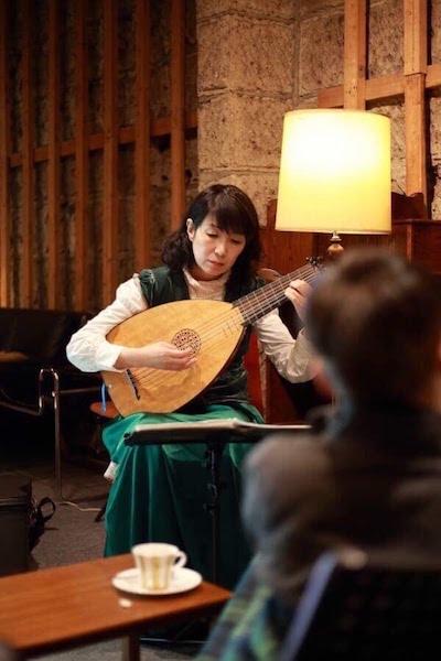 リュート永田斉子演奏写真