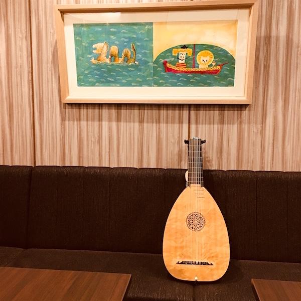 朗読音楽会「ロバのおうじ」ブックハウスカフェ