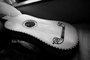永田斉子所有バロックギター全体