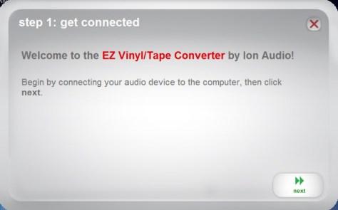 EZ Vinyl/Tape Converter 1