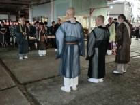 稲取の各寺院のご住職による読経