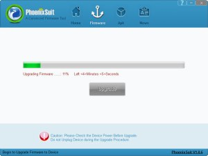 PhonixSuit - Flashing your sd card