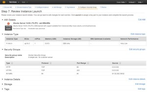 Step 7 - Review Instance Launch