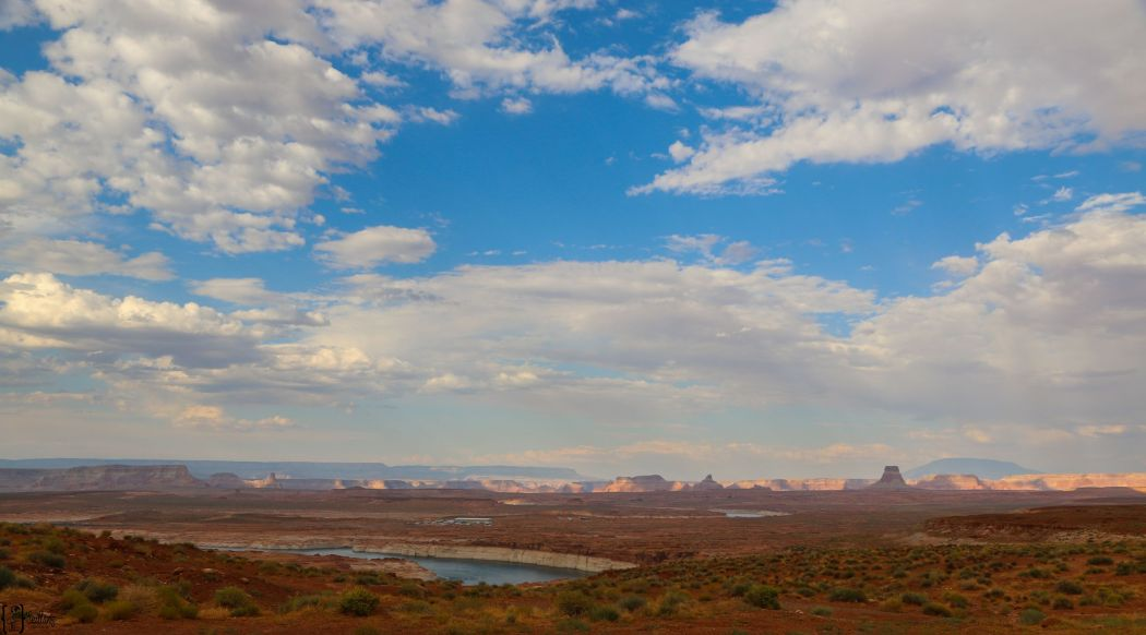 1 Page Blick auf Lake Powell