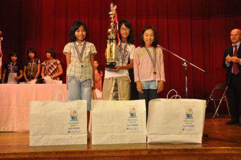 Elementary school winners