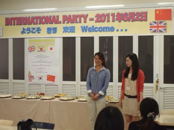 Our MCs, Yumika and Riho