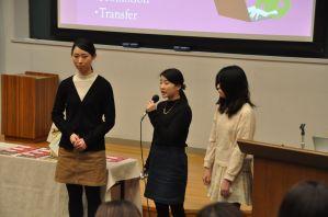Yumi, Riho, and Yukiko