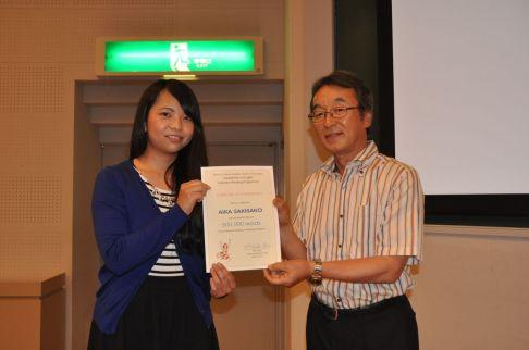 Presentation by Prof. Abe