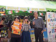 Yahiro-sensei enjoying the festival